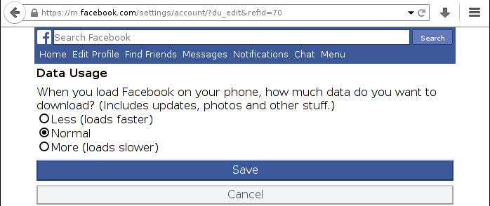 How to use tthe proxy • The redundant facebook copy